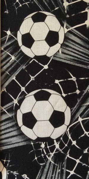 Fabric 100% Cotton Timeless Treasures Shooting Footballs