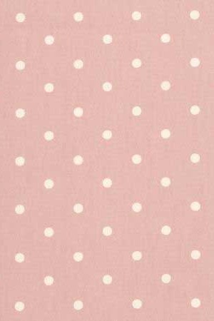 Fabric Clarke & Clarke Dottie Rose spots