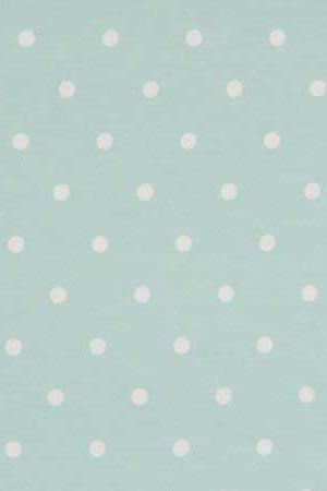 Fabric Clarke & Clarke Dottie Seafoam spots