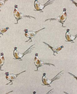 Fabric Chatham Glyn Mini Pheasants