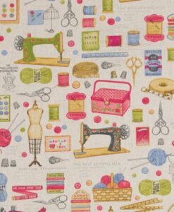 Fabric Chatham Glyn Linen Sewing Stitching Large