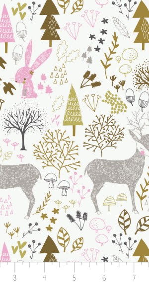 Fabric Camelot 2143702-1Hello My Dear Woodland