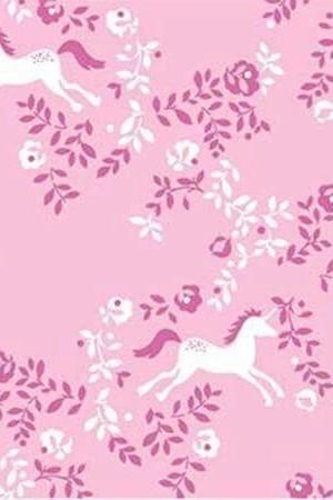 Fabric Dear Stella Fuchsia Unicorn