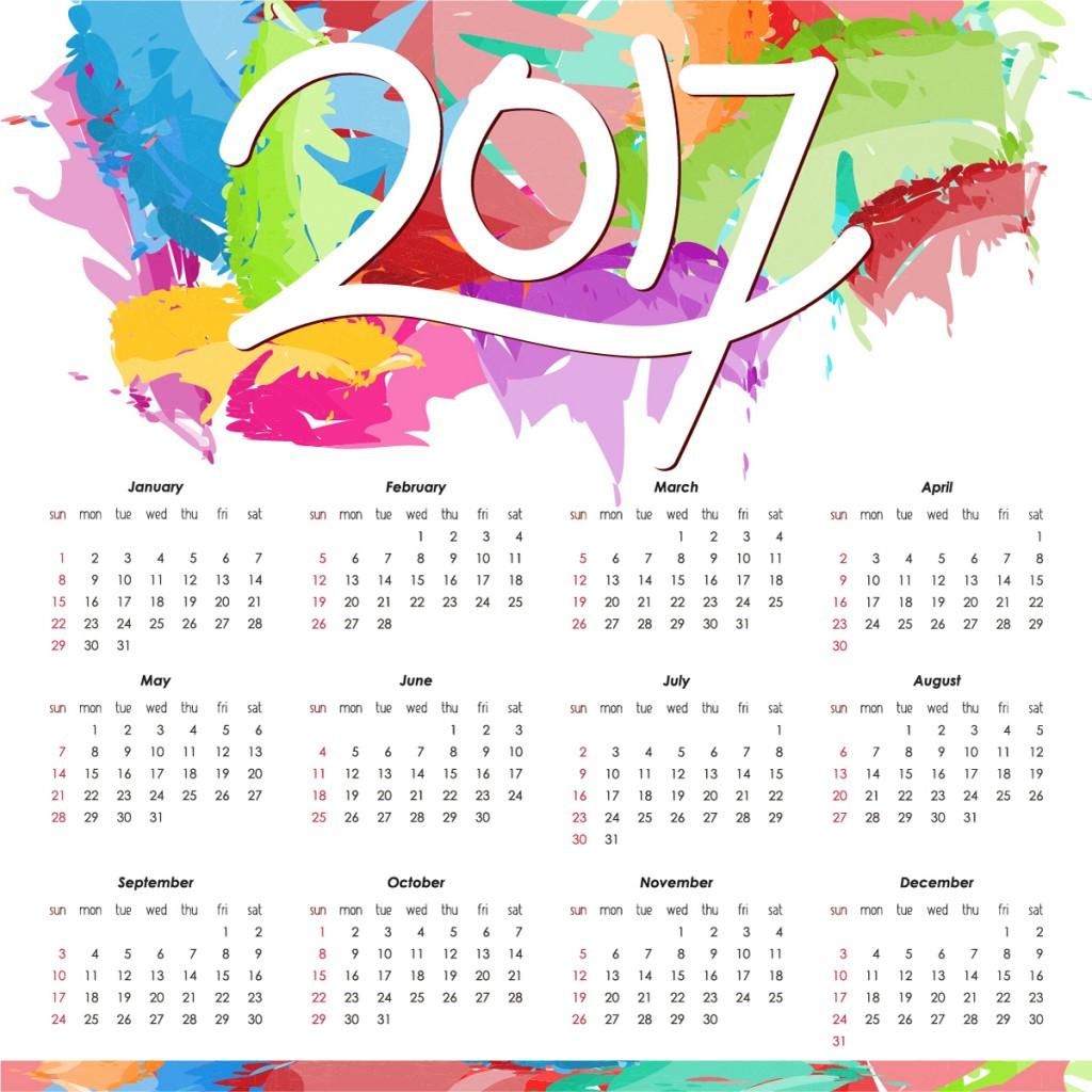 Diary Dates 2017 Events We Will Be Attending This Year