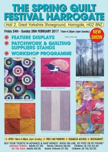 Spring Quilt Show, Hall 2, Yorkshire Showground, Harrogate