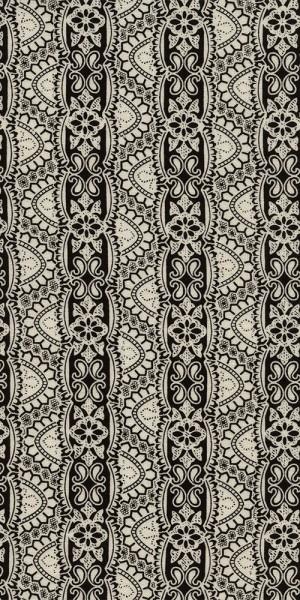 Fabric Timeless Treasures Black White Lace C4788
