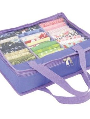 Fat Quarter Storage Bag Small Purple