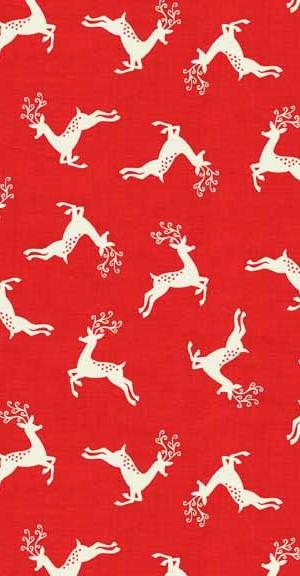 Makower UK Scandi Scatter Reindeer 1785/R