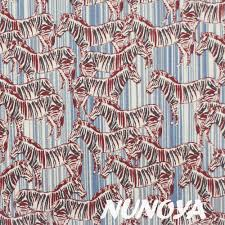 Fabric Jane Makower Safari Zebra