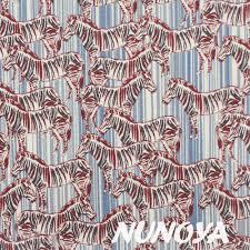 Fabric Jane Makower Safari Zebra