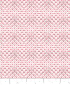 Fabric Camelot 4240405-8 Jackie Pink Triangle