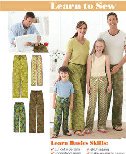 Simplicity Sewing Pattern 2290A Lounge Pants/PJ's