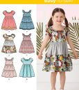 Simplicity Sewing Pattern 2377A Childs Dress US size 3-8