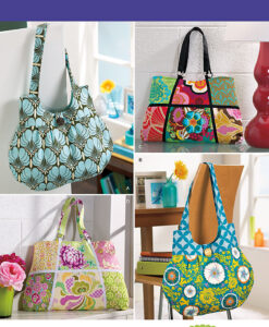 Simplicity Sewing Pattern 2396os Bag and Patchwork Bag