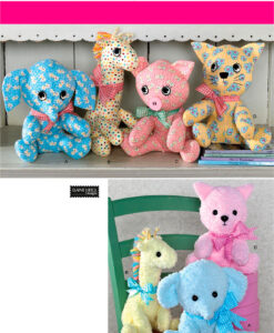 Simplicity Sewing Pattern 2613 Soft Toys