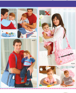 Simplicity Sewing Pattern 2924OS Baby Bag and Accessories