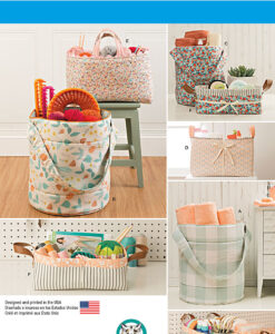 Simplicity Sewing Pattern 8107 Storage Bags