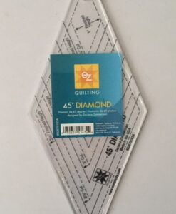 EZ Quilting Template Acrylic 45 degree Diamond shape