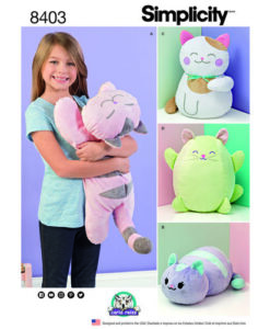 Simplicity Sewing Pattern 8403 Soft Toy/Cushion