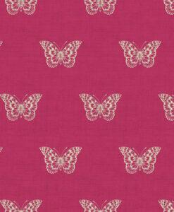 Makower UK Botanica Butterfly Fuchsia 1863/P