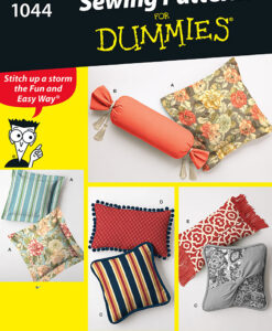 Simplicity Sewing Pattern 1044 OS Cushions for Dummies