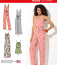 Sewing Pattern 1355 A Trouser/Jumpsuit Easy Sew One Size