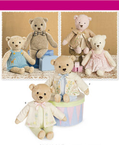 Simplicity Sewing Pattern 8155 OS Teddy Bear Soft Toy