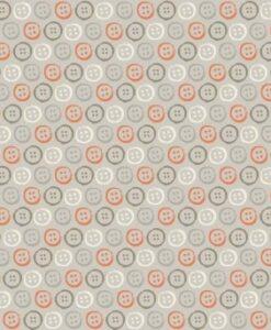 Makower UK Homemade Buttons Grey 1891/S
