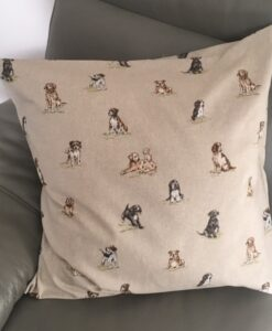 Cushion Individually Home Made Shabby Dogs
