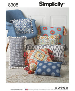 Simplicity Sewing Pattern 8308 OS Cushions
