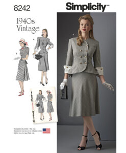 Simplicity Sewing Pattern 8242 AA Vintage Suit