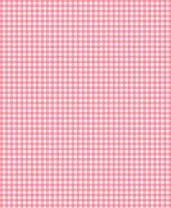 Makower UK Fruity Friends Gingham Pink 920/P3