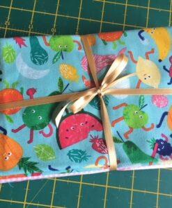 Bundles of 6 Quality Fabric Fat Quarters Fruity Friends