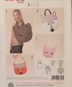 Burda Sewing Pattern 6828 Bags
