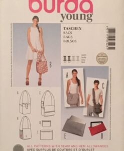 Burda Sewing Pattern 7223 Bags