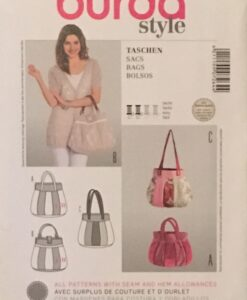 Burda Sewing Pattern 7264 Bags