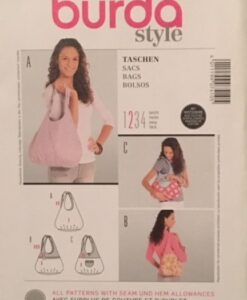 Burda Sewing Pattern 7410 Bags