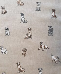 Fabric Chatham Glyn Linen New Shabby Dogs