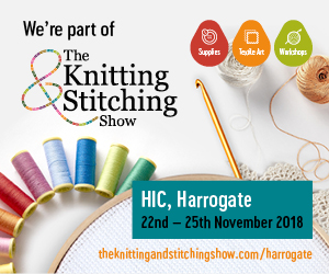 Knitting & Stitching Show, Harrogate International Centre 22 - 25th November