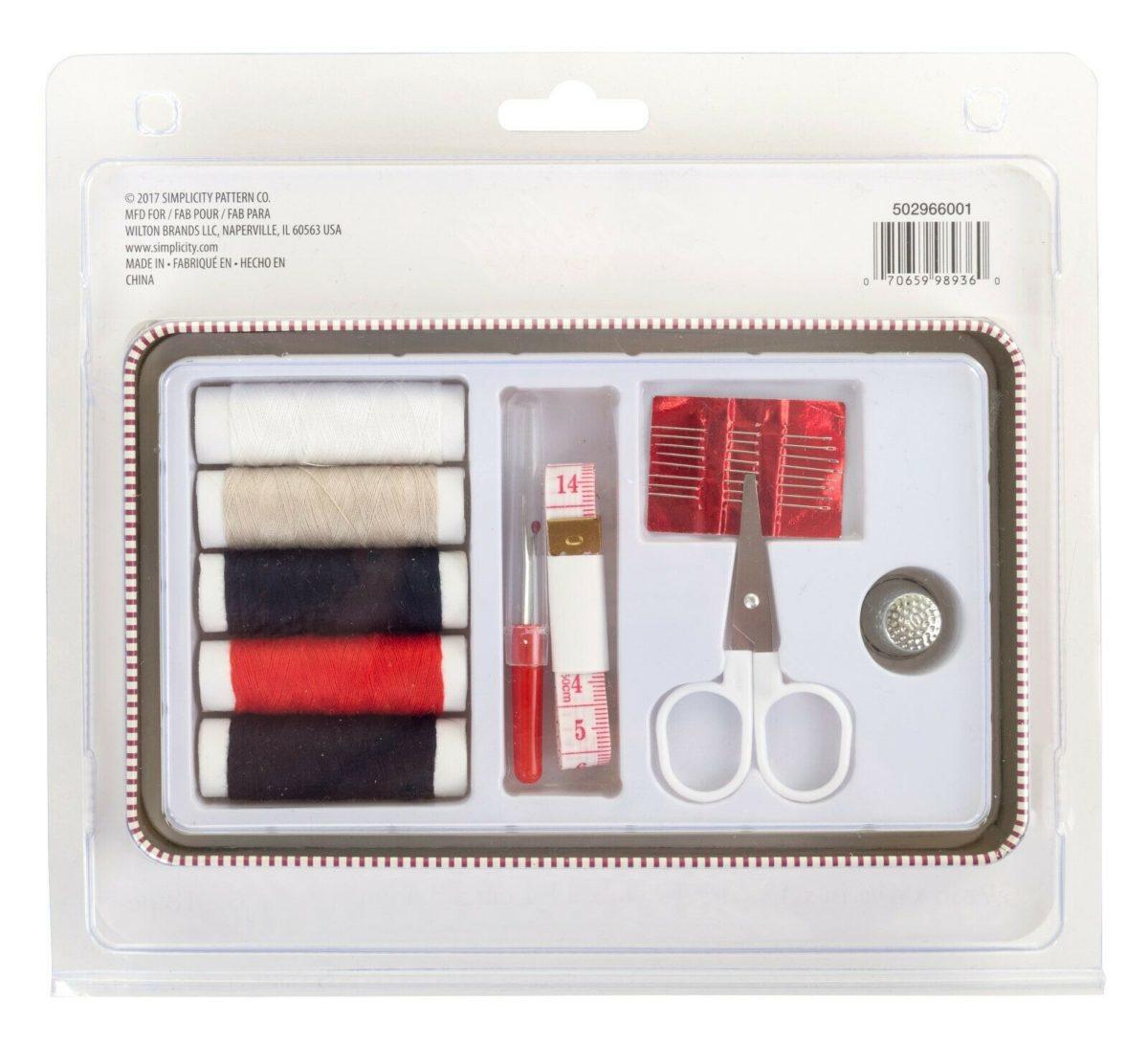 Simplicity Vintage Gift Range Notions Tin