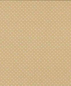 Fabric Makower UK Spot On Dk Cream 830/Q