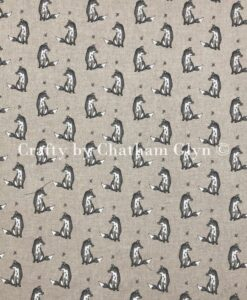 Fabric Chatham Glyn Linen Vintage Foxes