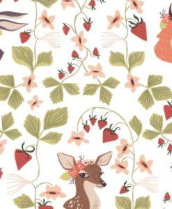 Fabric Dear Stella Superior Quality SRR1246 Animal Portraits
