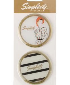 Simplicity Vintage Gift Range Pattern Weights Stripes