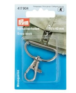 Prym Snap Hook Silver Colored 30 mm x 40mm 417904