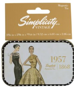 Simplicity Vintage Gift Range Magnetic Tin 1957