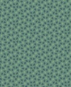 Fabric Makower UK Trinkets T2020 Flourish Teal