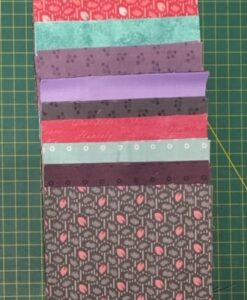 Pre Cut fabric Squares Makower & Marcus Charm Pack 44 x 5 inch