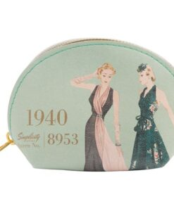 Simplicity Vintage Gift Range Coin Purse Green 1940