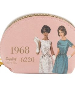 Simplicity Vintage Gift Range Coin Purse Pink 1968